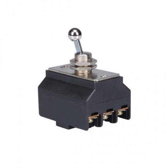 Interruptor de Alavanca Tripolar 30A - CS-301 - Sem Caixa