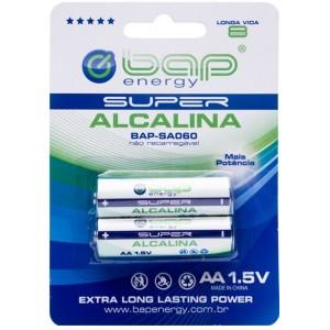 Pilha Super Alcalina AA BAP-SA060