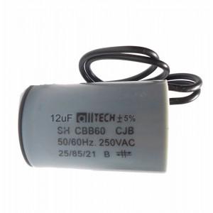 Capacitor 12uf 250vac 50/60 Hz