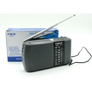 Rádio Bolso Portátil Icf-8 Am Fm