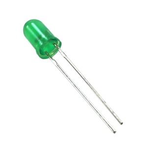 LED de 5mm Verde Difuso