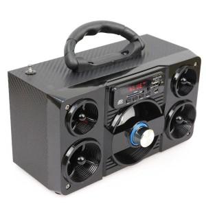 Caixa Bluetooth 5Watts Super Bass com visor SD/USB/FM mini system