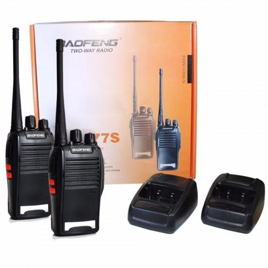 Radio Comunicador Walk Talk Baofeng Bf-777s Kit 2 Radios
