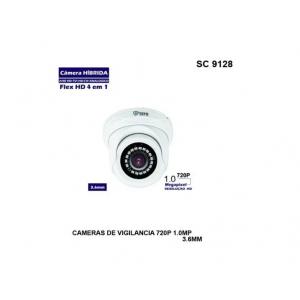 Câmera Dome Ahd 1080mp 3.6mm
