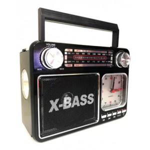 Rádio FM AM SW Com Relógio