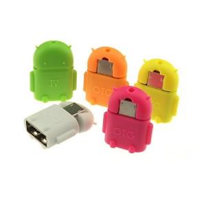 Adaptador Micro Usb Macho Para Usb Macho-tablet-celular-pc