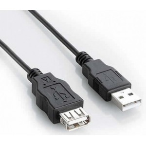 Cabo Extensor USB Macho x Fêmea 2 metros