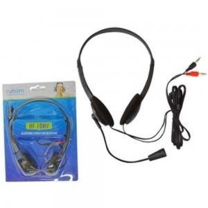 HEADSET MULTIMIDIA C/ MICROFONE EXBOM HF - 10mv HF - 10mv EXBOM