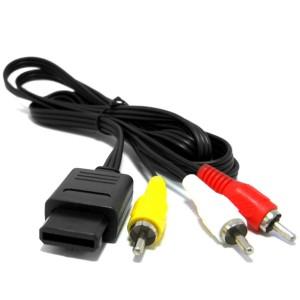 Cabo Av Super Nintendo Audio E Video Snes N64 Game Cube