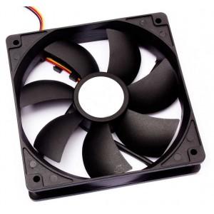 Ventilador Cooler Ventuinha Gc 90x90x25 Rolamento 12 Volts