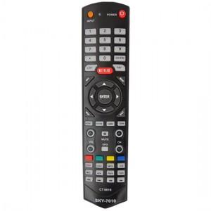 Controle Remoto Pra TV LCD TOSHIBA c/ Netflix CT6610 SKY-7010