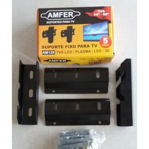 SUPORTE AMFER FIXO PARA TV AMFER 14 A 80 POLEGADAS