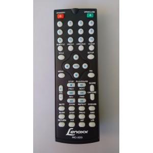 Controle Remoto Dvd Lenoxx