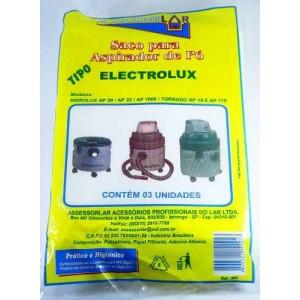 Saco De Aspirador Po Descartavel Eletrolux Hidrolux Ap20/22